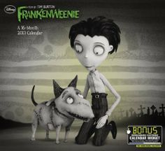 2013 Frankenweenie Wall Calendar by Day Dream. $13.49. Publication: August 24, 2012. Publisher: Day Dream; 16m Wal edition (August 24, 2012). Save 10% Off!