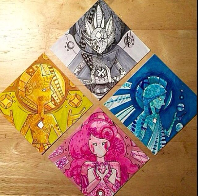 Diamond Authority although Pink Diamond(Rose) is not confirmed yet.