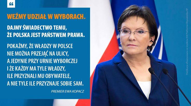 Pokażmy, że Polska demokracja jest silna. Weźmy udział w wyborach.