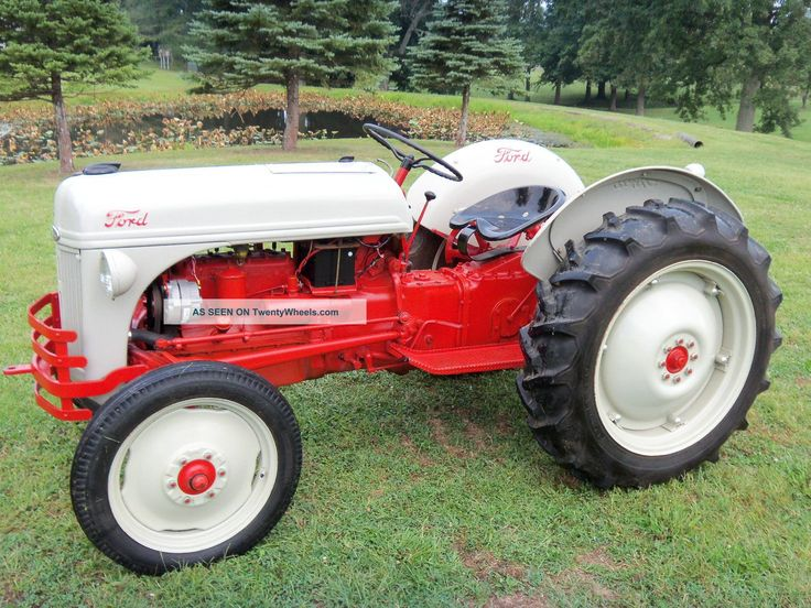 ford 8 tractors | 1952 Ford 8N Tractor  Completely