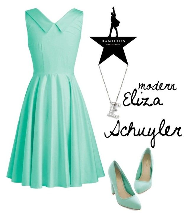 """Hamilton: Modern Eliza Schuyler"" by sadiemaeve-mckenna ❤ liked on Polyvore featuring Bloomingdale's, modern, Hamilton, musicaltheater, ElizaSchuyler, HamiltonbySadie and modernhamiton"