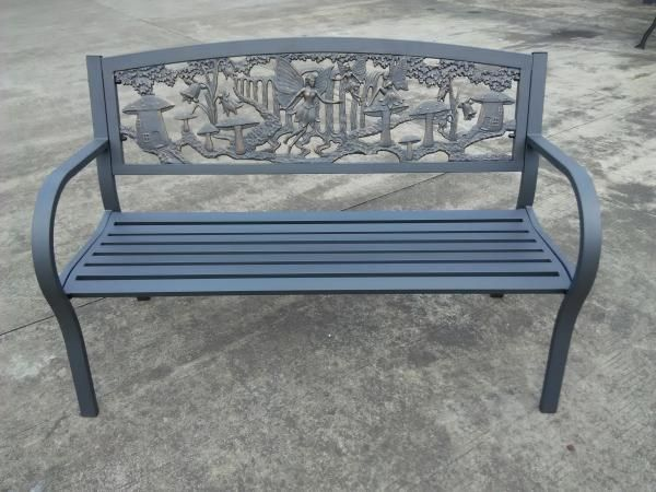 Cast Iron Bench With Fairies Steel Frame Iron Bench Cast Iron