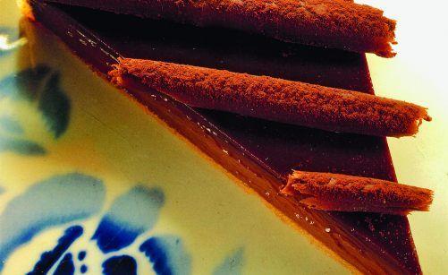 Tarte au chocolat fondant par Joël Robuchon