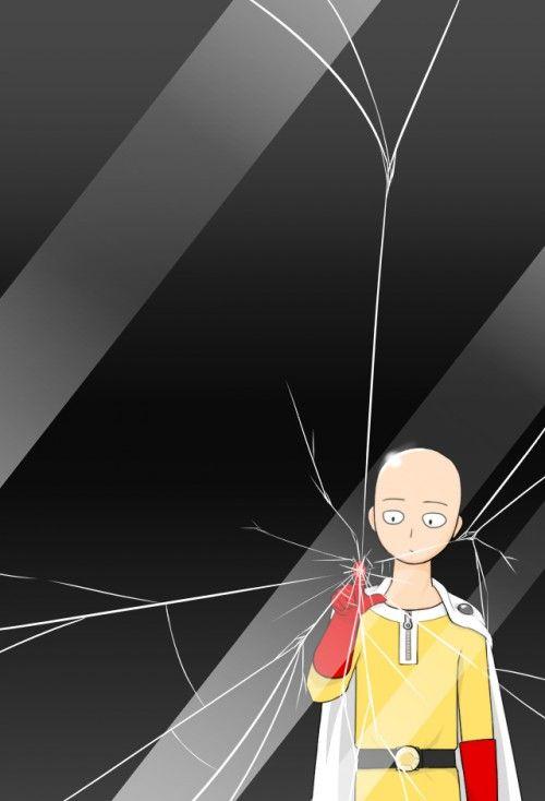 anime wallpaper of Saitama | One Punch Man