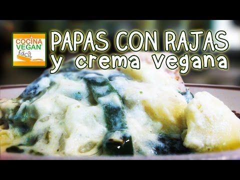 Deli Deliciosas Rajas con papas y crema - YouTube