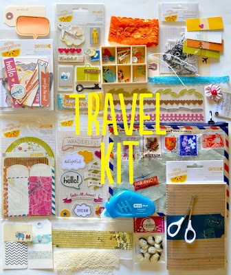 Amy tangerine travel kit... try to figure out everything in there :)