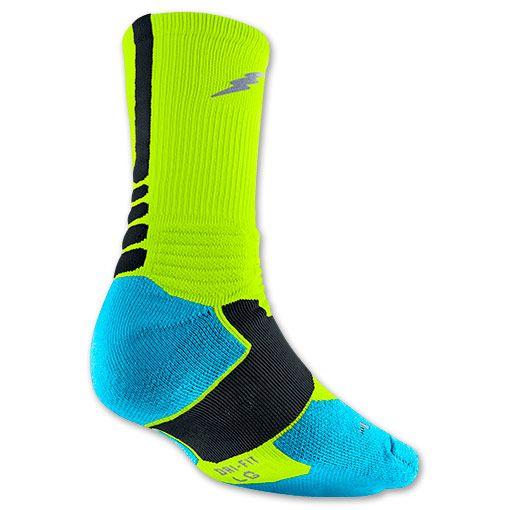 Men's Nike KD Hyper Elite Basketball Crew Socks