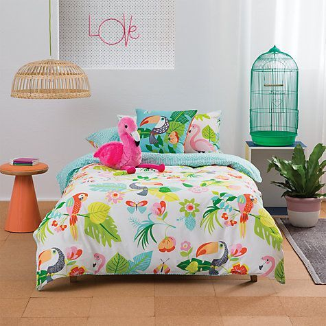 Buy Kas Paradise Duvet Cover and Pillowcase Set Online at johnlewis.com