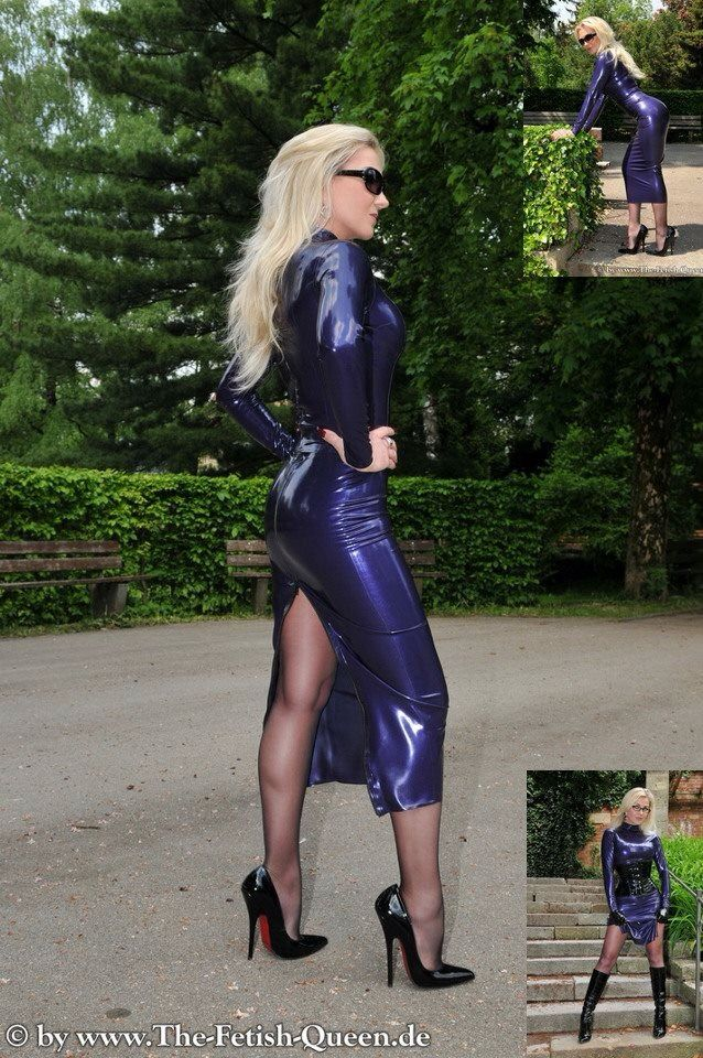 ️ilove ️ Outfit Ideas For My Wife Rubber Dress Latex
