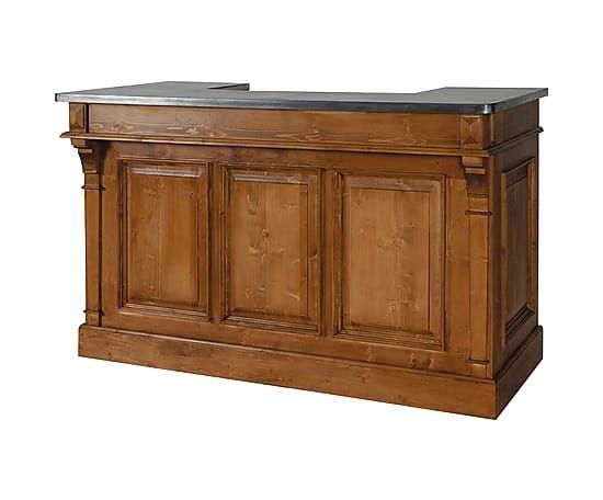 17 migliori idee su bancone in legno su pinterest piani cucina in legno controsoffitti in - Bancone cucina legno ...