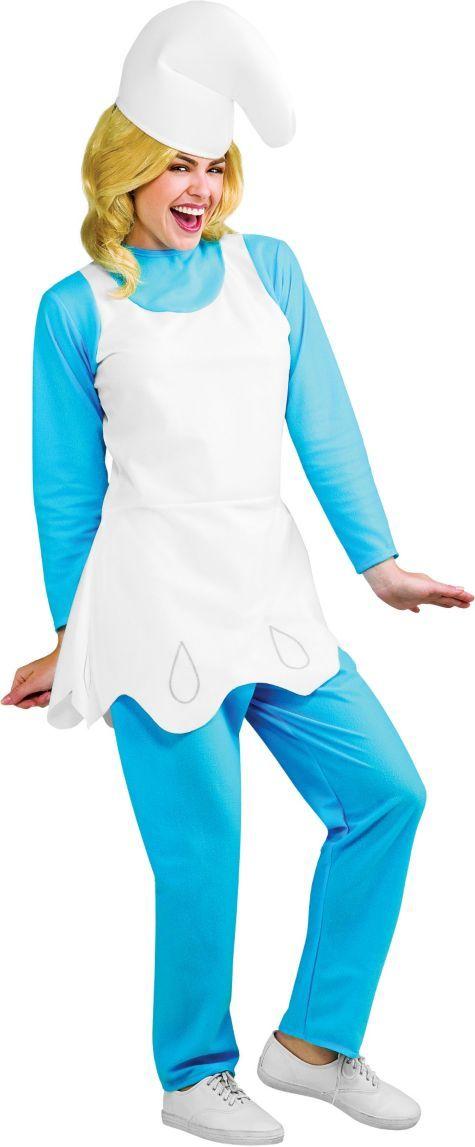 Adult Smurfs Smurfette Costume - Party City