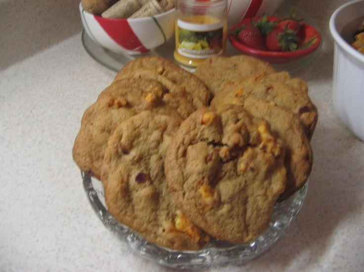 Crunchy Cheetos Bacon Cookies