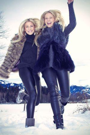 Cheyenne & Valentina Pahde Michael Tinnefeld Photoshoot