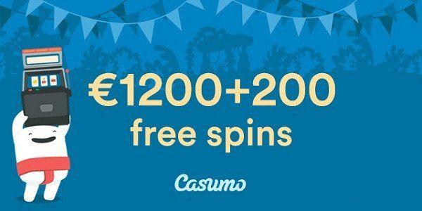 Casumo casino new online casino bonus, and 200 Free Spins!