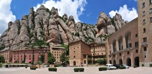 Santa Maria de Montserrat is a Benedictine abbey located on the mountain of Montserrat,in Catalonia, Spain.  Provence and Spain - 7 Night River Cruise - Paris to Barcelona: From magical Paris to romantic Barcelona, this itinerary is truly captivating... www.celtictours.com/stw/STWProduct.aspx?=CELTIC=EU-RIV-PROSPA-P2B