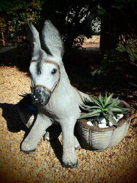 Vintage Donkey Planter ♥♥ Almost Like Grandmau0027s