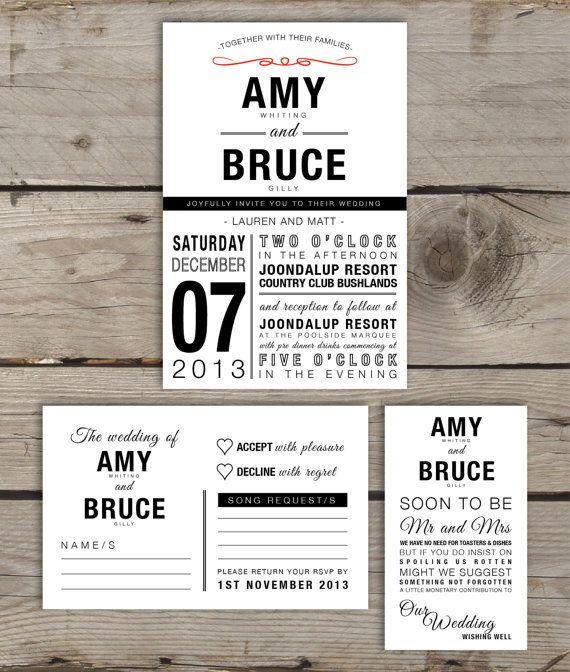 30 best Printable Wedding Invitations images on Pinterest Free