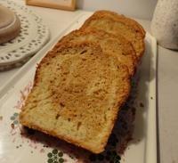Cake marbré à la chicorée et à la vanille