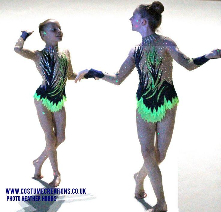 Poppy and Sasha Spelthorne British Sports Acrobatic Champions