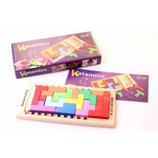 Katamino Puzzle Zeka Gelişim Oyunu (Küçük Boy)