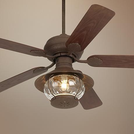"""52"""" Casa Vieja Rustic Indoor/Outdoor Ceiling Fan - #53438-24789-24860   LampsPlus.com"""