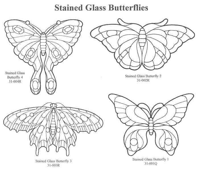 339 best Stained Glass Butterflies & Dragonflies images on Pinterest ...