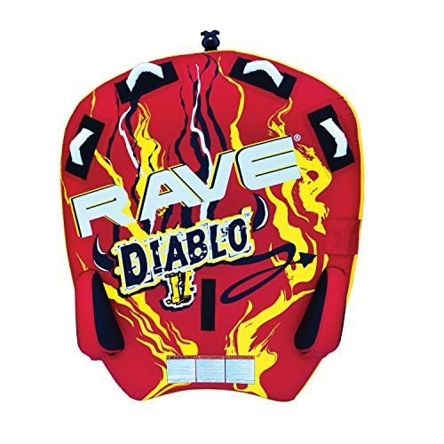 RAVE Sports 02318 Diablo II 2-Rider Towable RAVE Diablo 2-Rider Tapered Profile Deck Towable The Diablo II inflatable towable tube is the very best addition to your entire water toys! 2-rider towable / 340 lbs. most rider weight Skim-speedy bottom for slick, speedy trip 4 handles and …  Read More  http://good-deals-today.com/product/rave-sports-02318-diablo-ii-2-rider-towable/