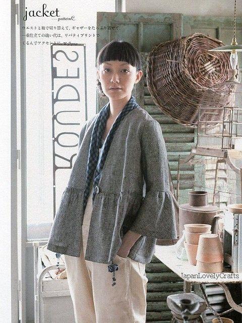 Feminine Style by Jinko Matsumoto - Japanese Sewing Patterns Book for Women - Blouse, Tunic, One-Piece Dress, Jacket, Pants, etc... - B770. $24.80, via Etsy.