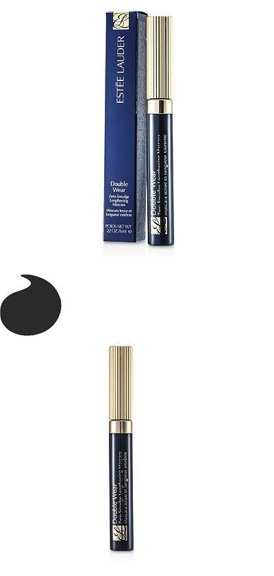 Mascara: New Estee Lauder Double Wear Zero Smudge Lengthening Mascara - # 01 Black 0.24Oz -> BUY IT NOW ONLY: $30.72 on eBay!