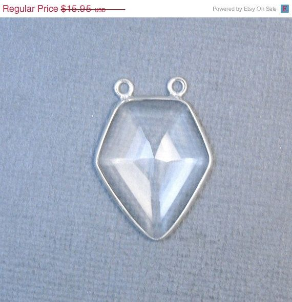12% off Wholesale Crystal Quartz Shield Shaped by jewelersparadise