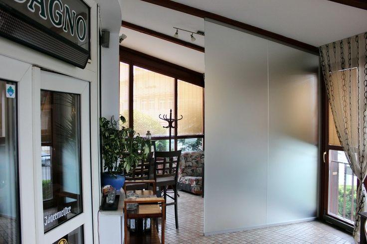 Sklenená stena - zákaznícky návrh