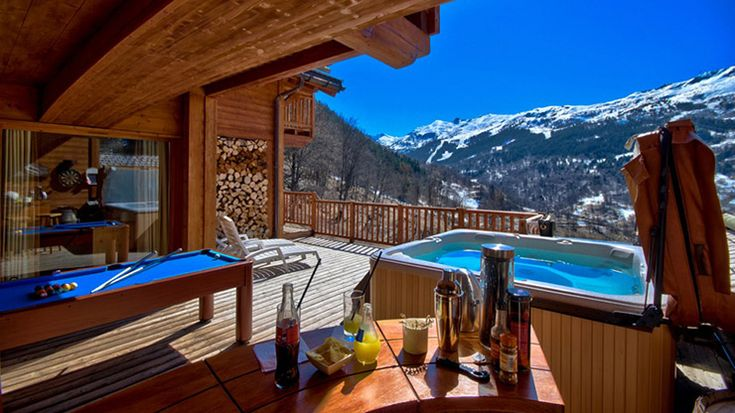 Ski resort in France. You can spend all year and still have the feel and fun.