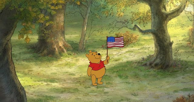 WINNIE THE POOH: Happy Independence Day! - A Sparkle of Genius