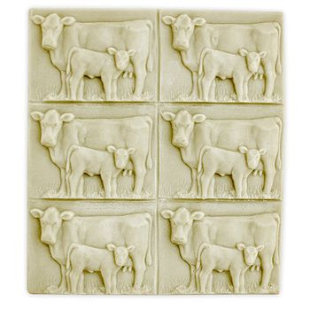 Bulk Apothecary stocks hundreds of plastic and silicone soap molds like Tray-Cow and Calf soap molds at the best prices on the web.