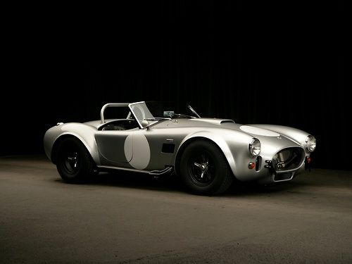 "The ultimate ""kit"" car, AC Cobra"