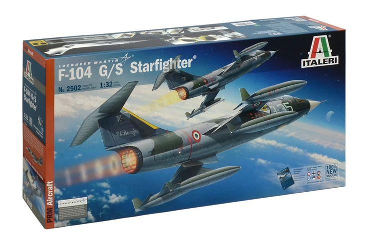 F-104 Starfighter by Italeri http://sqz.co/q5KSs8t