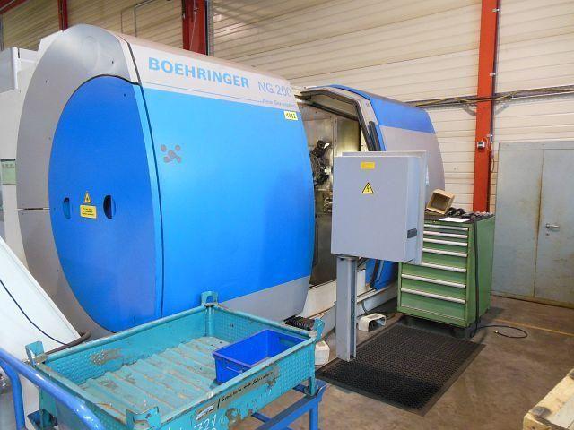 used CNC - lathe machine BOEHRINGER NG 200