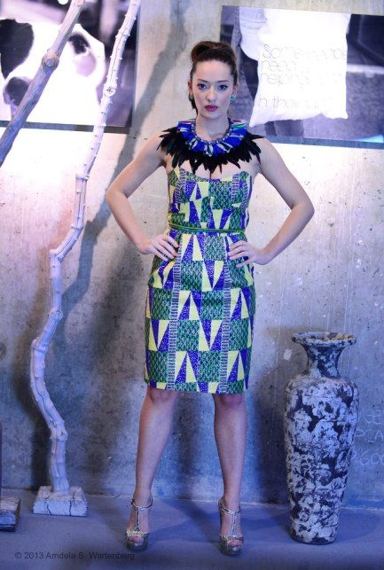 African Print Fashion Dresses