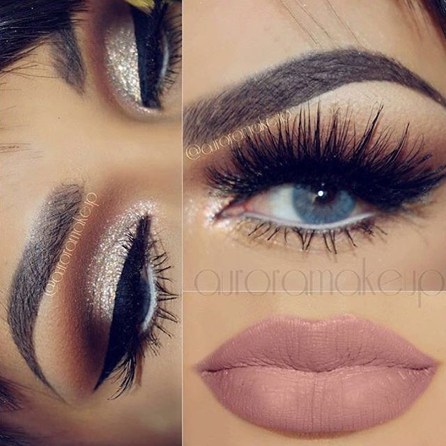 Gorgeous @auroramakeup wearing one of my favorites @shophudabeauty mink lashes in Marilyn