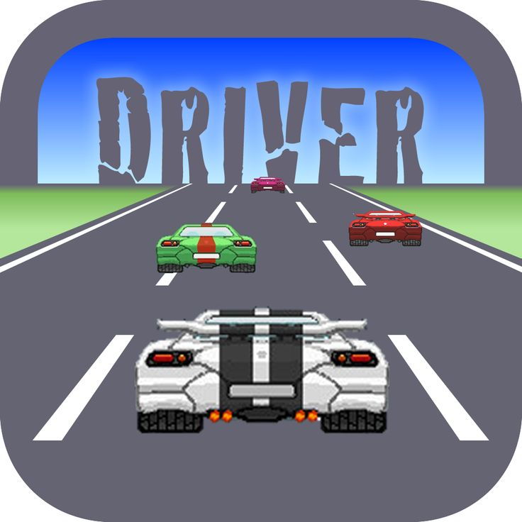 Infinite Road Driver - 16 Bits iOS: https://itunes.apple.com/app/id914798457 Google Play: https://play.google.com/store/apps/details?id=com.aplenocio.Driver