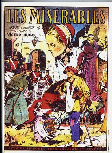 French comic based on Les Miserables | Comic- Classics Illustrated ...