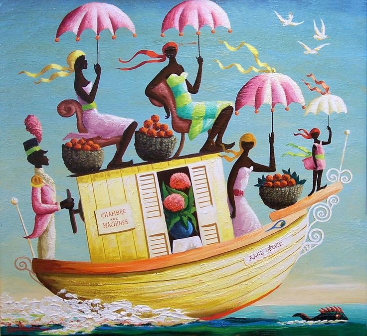 Orville Bulman's 'La Barque Ange Delice,'