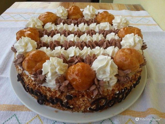 #Torta #Saint-Honorè della nostra utente Silvia! Entra anche tu nella #Community ed inviaci le tue foto > http://bit.ly/1WfUtR6