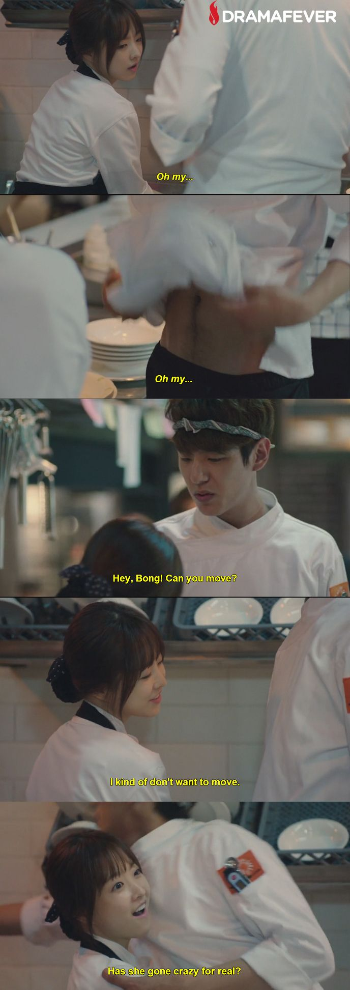This scene had me cracking up! Watch the hilarious series Oh My Ghostess on DramaFever!