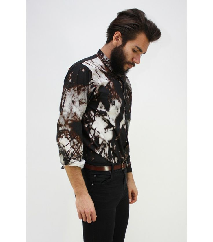 Laitinen Batik Dress Shirt (Sold Out) - WST.fi