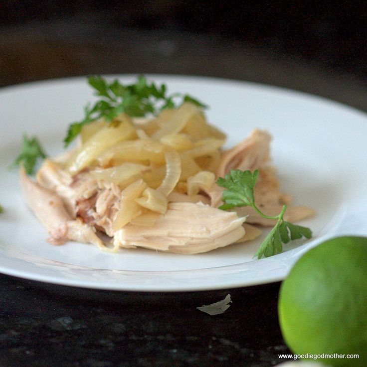 Clean eating #crockpot Cuban chicken  #slowcooker #chicken #recipes #cleaneating #paleo
