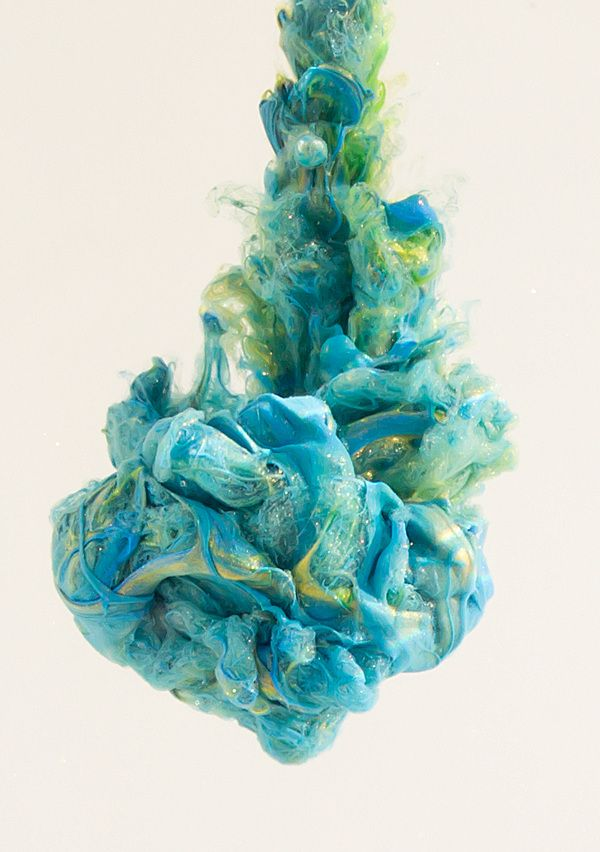 Ethereal 'Paint In Water' Sculptures Burst With Creative Destruction | The Creators Project