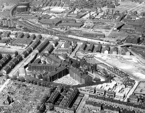 Armley Jail, Aerial View