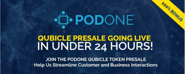 PodOne Pre-ICO with 100% bonus is now live for early investors!: PodOne, an offshoot of parent company Fenero, based in Miami, Florida has…