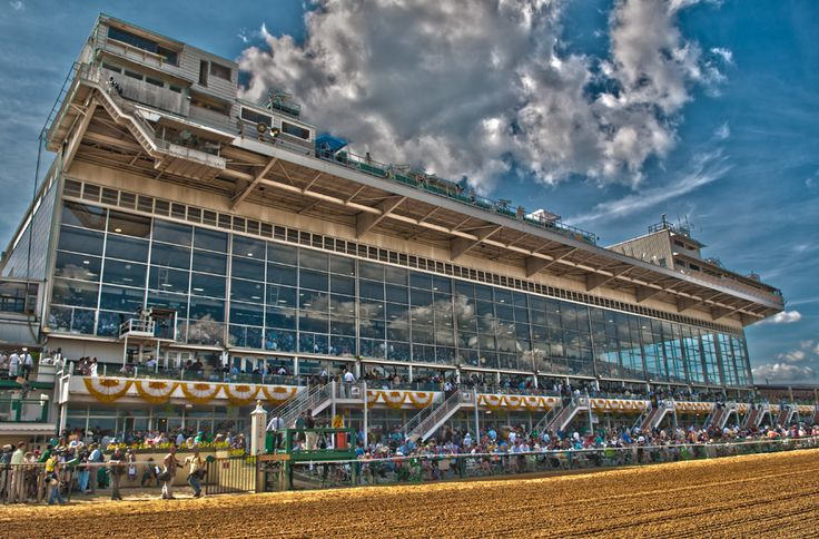 Pimlico Race Track, Baltimore Maryland. Home of the Preakness Stakes!